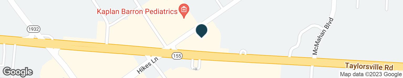 Google Map of4025 TAYLORSVILLE RD
