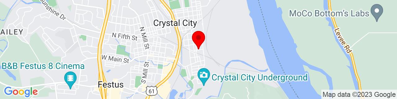 Google Map of 38.2211656, -90.3790094