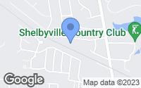 Map of Shelbyville, KY