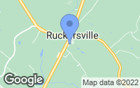 Map of Ruckersville, VA