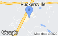 Map of Ruckersville, VA
