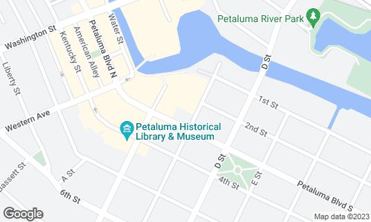 Map of Boulevard Cinemas at 200 C St Petaluma, CA