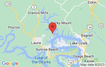 Map of Gravois Mills
