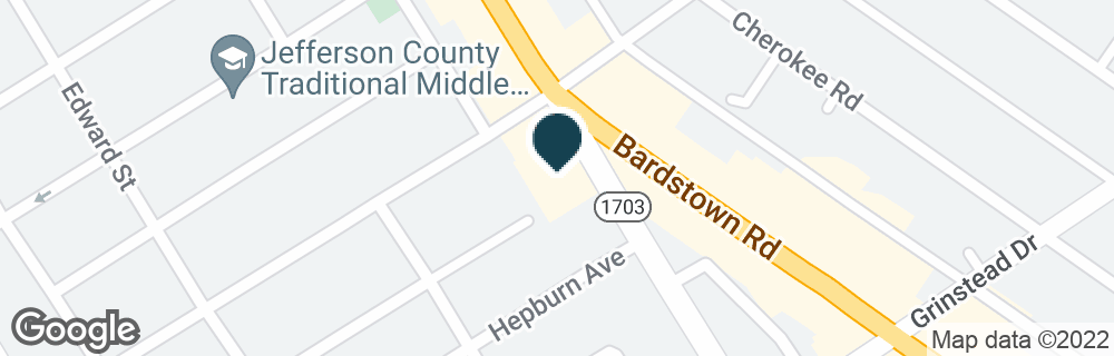 Google Map of990 BAXTER AVE