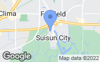 Map of Suisun City, CA