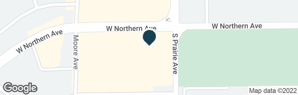 Google Map of2900 W NORTHERN AVE