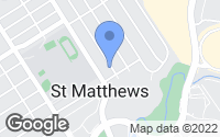 Map of Saint Matthews, KY