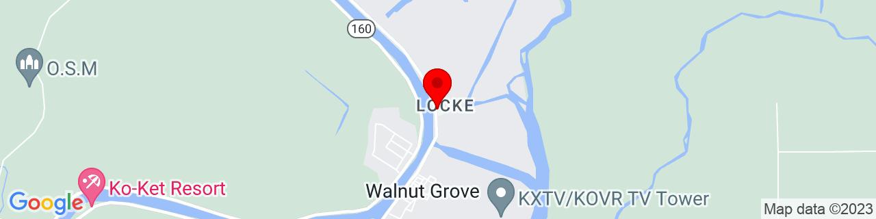 Google Map of 38.2501848, -121.5097083