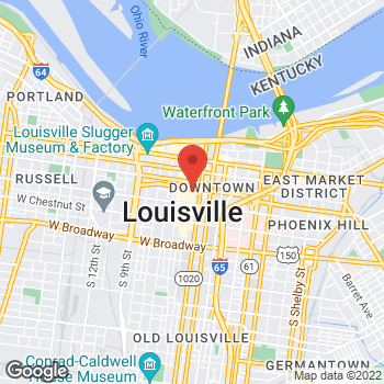 Map of Fifth Third Mortgage - Patricia Dewitt at 401 South 4th Street, Louisville, KY 40202