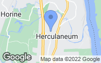 Map of Herculaneum, MO