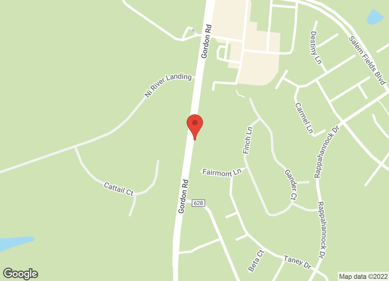 Google Map of VCA Chancellor Animal Hospital