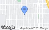 Map of Pueblo, CO