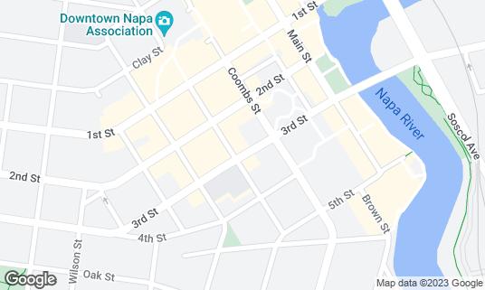 Map of Billco's Billiard and Darts at 1234 Third St Napa, CA