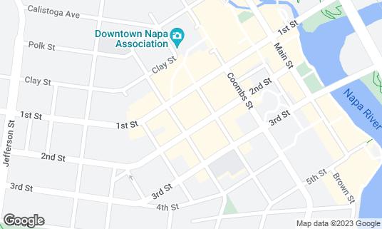 Map of CADET at 930 Franklin St Napa, CA