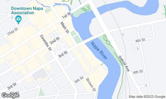 Map of Basalt at 790 Main St Napa, CA