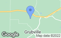 Map of Grubville, MO