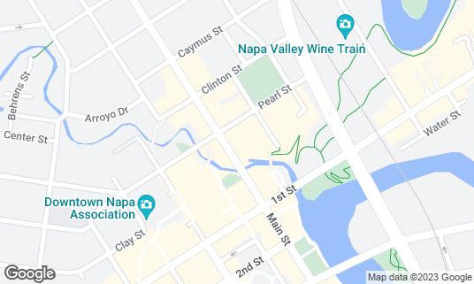 Map of TORC at 1140 Main St Napa, CA