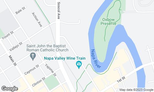 Map of The Westin Verasa Napa at 1314 McKinstry St Napa, CA