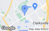 Map of Clarksville, IN