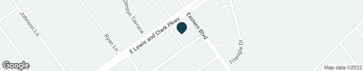 Google Map of220 E LEWIS AND CLARK PKWY