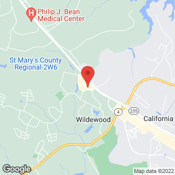 Map of Bed Bath & Beyond at 23415 Three Notch Road, California, MD 20619