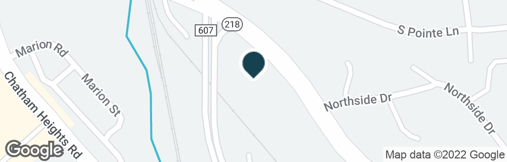 Google Map of50 WHITE OAK RD