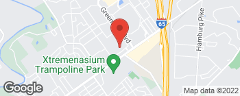 Map of 757 E Lewis Clark Pkwy in Clarksville