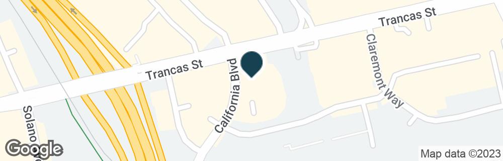 Google Map of1685 TRANCAS ST
