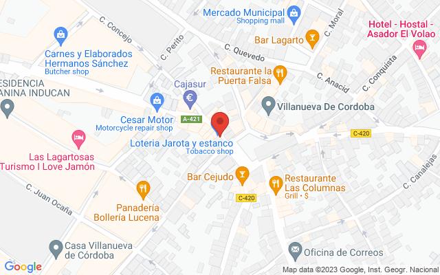 Administración nº1 de Villanueva de Córdoba