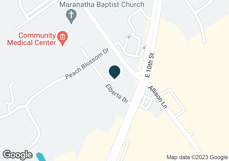 Google Map of2811 HOLMANS LN