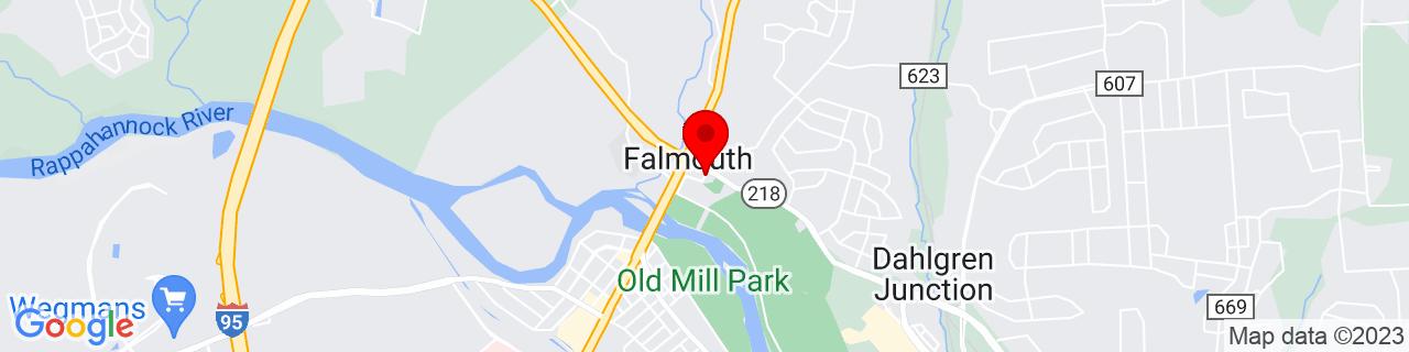 Google Map of 38.322928, -77.4669485