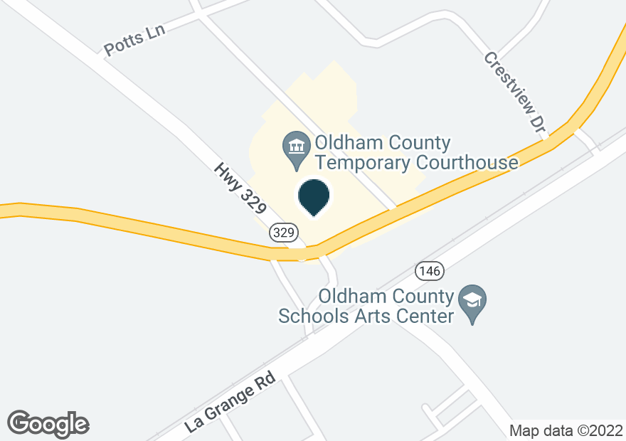 Google Map of6301 HIGHWAY 329