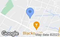 Map of Berlin, MD