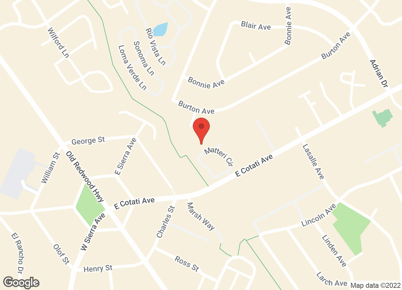 Google Map of VCA Animal Hospital of Cotati