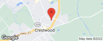 Map of 6003 Pleasant Colony Ct in Crestwood