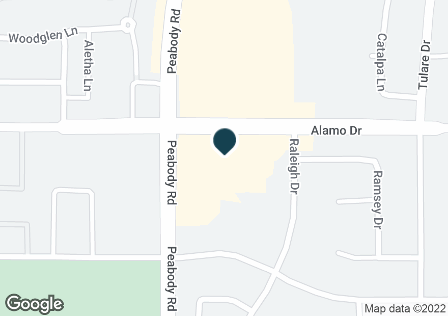 Google Map of2010 ALAMO DR