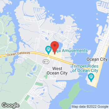 Map of Panera Bread at 12641-300 Ocean Gateway, Ocean City, MD 21842
