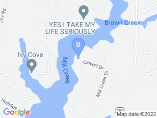 Map of Calvert Ways Pet Sitting Dog Boarding options in Lusby | Boarding