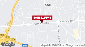 Obtener indicaciones para Tienda Hilti-Alicante - Alicante (Local nº 6)