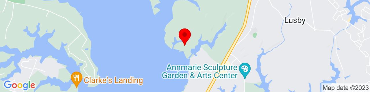 Google Map of 38.3523464, -76.4716191