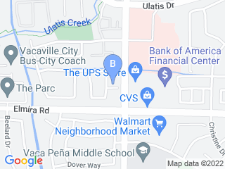 Map of Wagzone Pet Care Dog Boarding options in Vacaville | Boarding