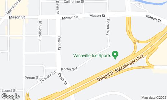 Map of Brenden Vacaville 16 at 531 Davis St Vacaville, CA