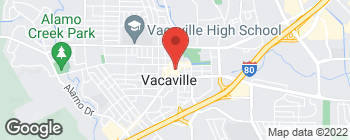 Map of 350 Merchant St in Vacaville