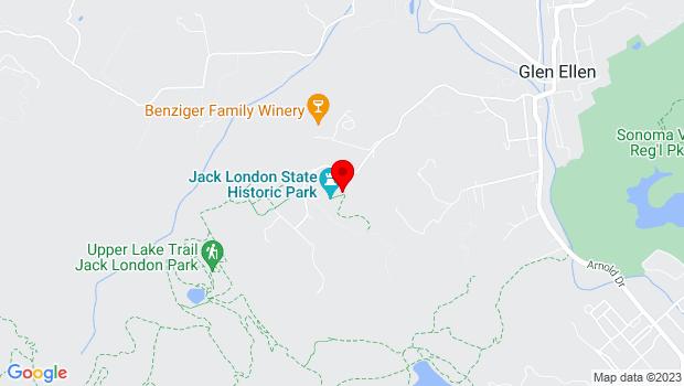 Google Map of 2400 London Ranch Road, Glen Ellen, CA 95442