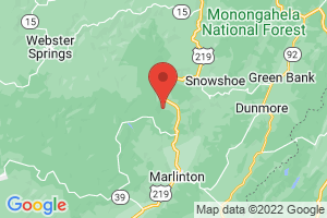 Map of Snowshoe Mountain Area