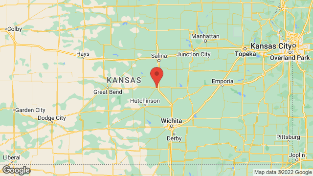 Central Christian College of Kansas location map