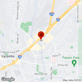 Map of Staples® Print & Marketing Services at 1010 Helen Power Dr., Vacaville, CA 95687