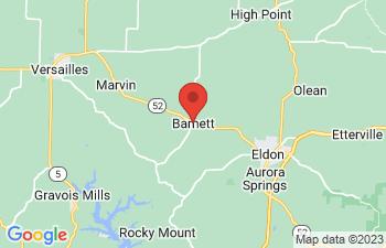 Map of Barnett