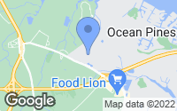 Map of Ocean Pines, MD