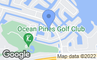 Map of Ocean Pines, MD